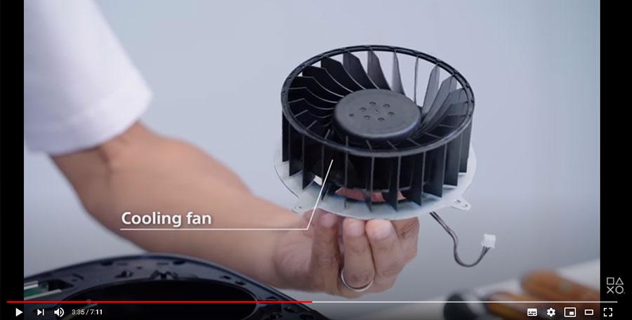 プレ5の冷却性能が増したファン